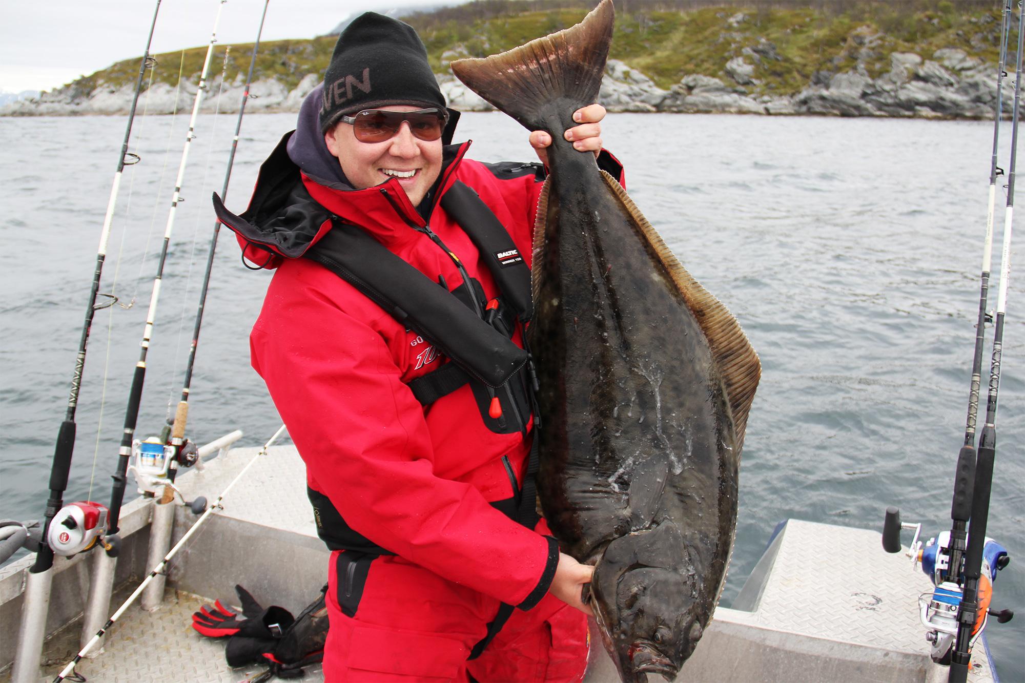 Havfiske i Lyngen. Foto